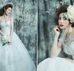 Miss Ngọc Anh lộng lẫy với váy cưới đính hoa 3D